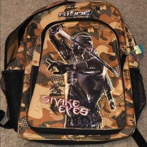 GI Joe desert camouflage boys backpack 🎒